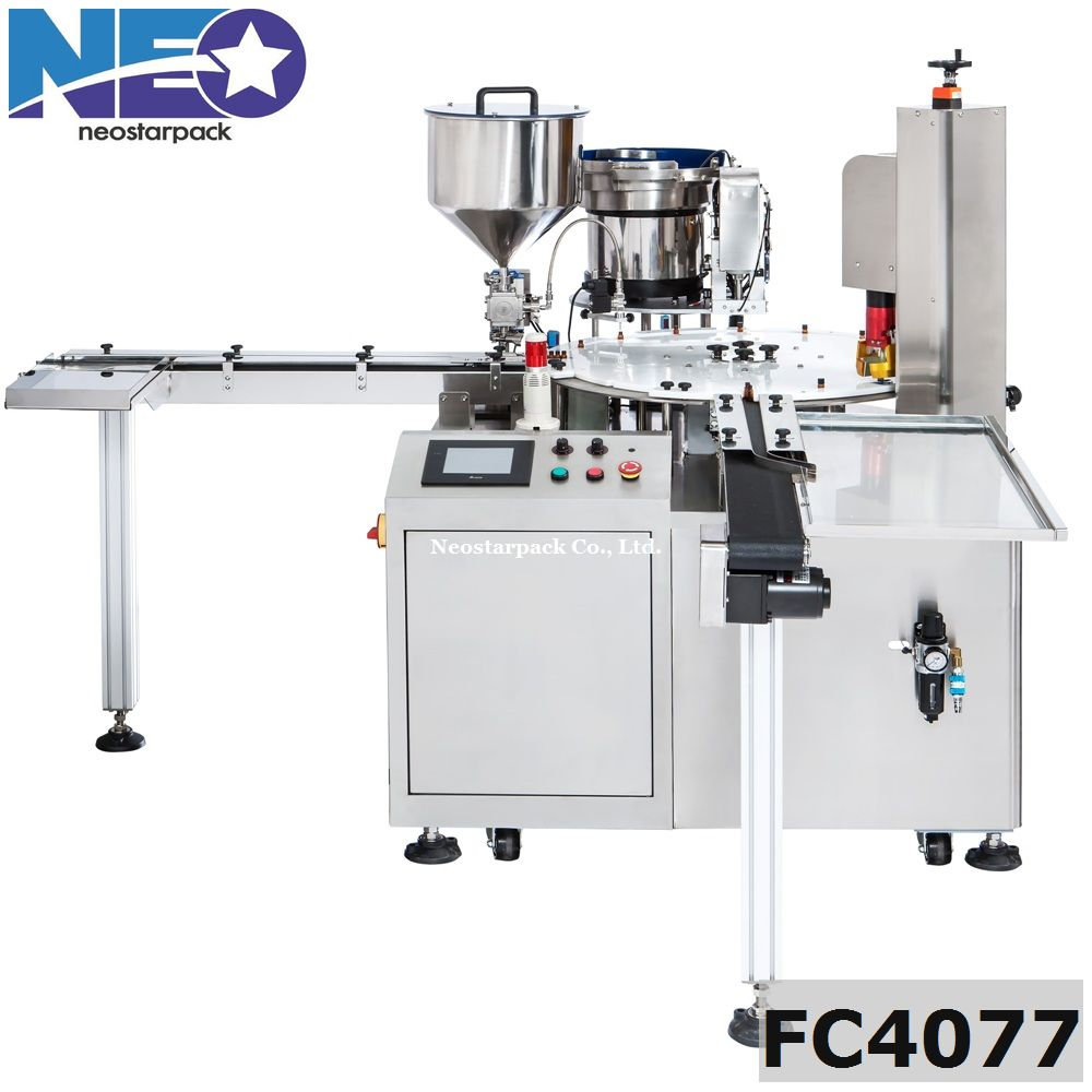 fully automatic bottles filling production line,Piston pump liquid filler & capper line for essential oil