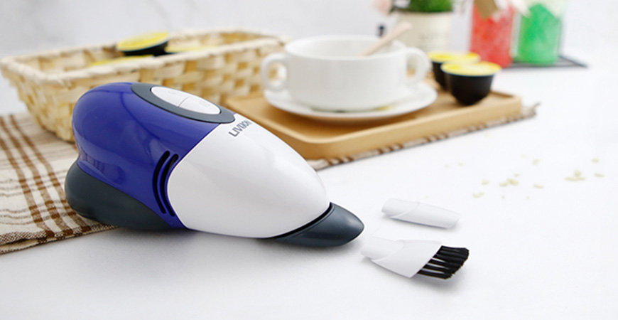 No more rummaging for your large heavy vacuum cleaner!