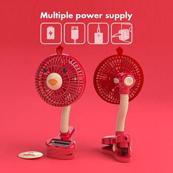 Provide both USB and battery power supply