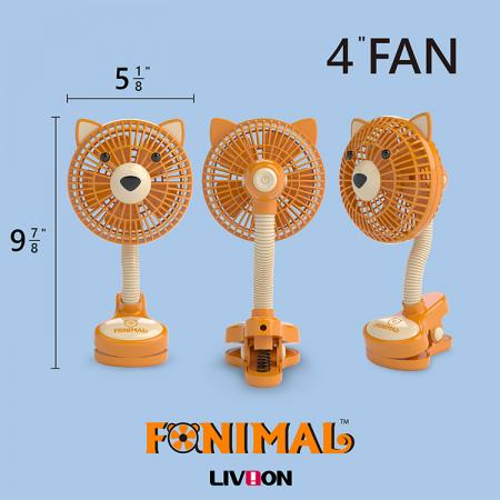 Size of the Puppy Fan