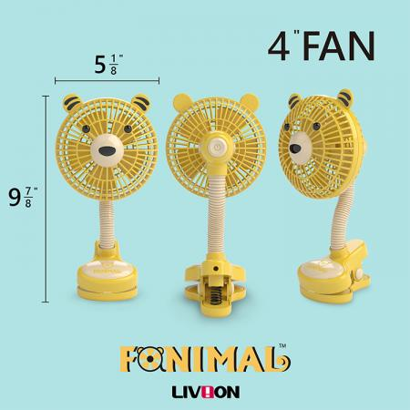 Size of the Tiger Fan