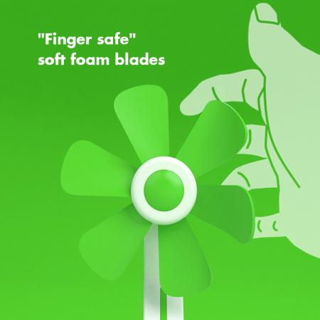 Safe to touch soft blade