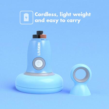 Cordless and lightweight