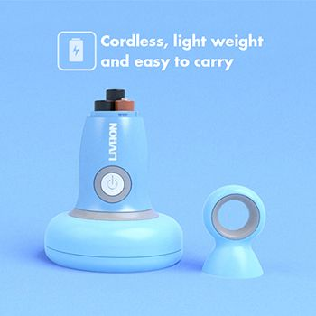 Cordless with battery power supply