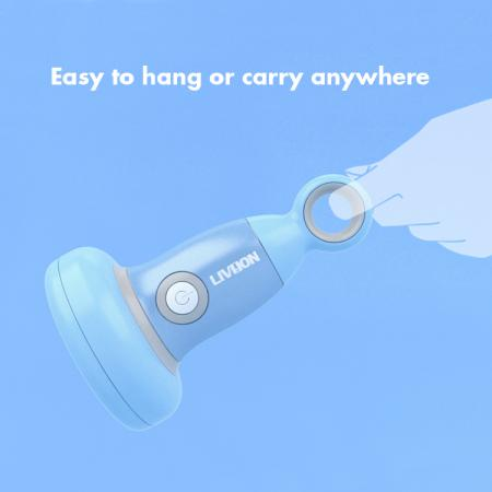 Can attach to any fingers