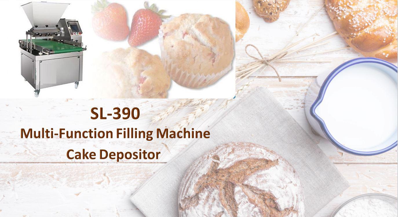 Filling Machine, Cake Depositor