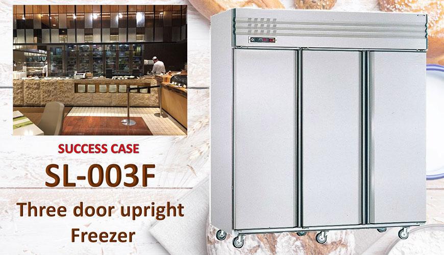 Three Door Upright Freezer
