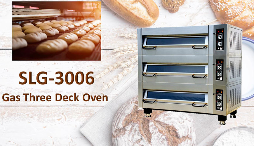 Used for baking, breads, cookies and cakes with automatic temperature control.