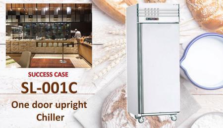 Refrigeratore verticale a una porta - Refrigeratore verticale a una porta