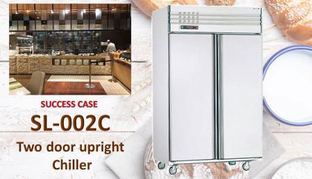 Refrigeratore verticale a due porte - Refrigeratore verticale a due porte