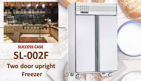 Congelatore verticale a due porte - Congelatore verticale a due porte