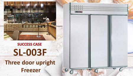 Three Door Upright Freezer - Three Door Upright Freezer