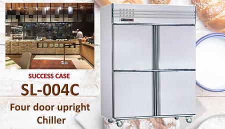 Refrigeratore verticale a quattro porte - Refrigeratore verticale a quattro porte