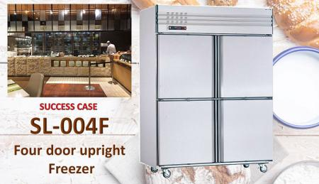 Four Door Upright Freezer - Four Door Upright Freezer