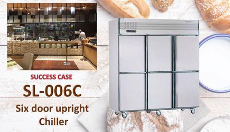 Refrigeratore verticale a sei porte - Refrigeratore verticale a sei porte