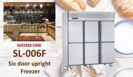 Six Door Upright Freezer - Six Door Upright Freezer
