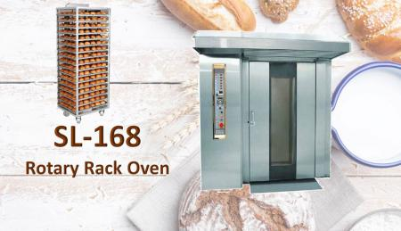 Rotary Rack Oven - Designed to ensure best performances even on the most delicate products.