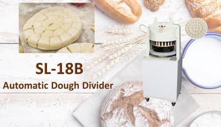 Automatic Dough Divider - Floor type dough divider is used for dividing pre-weighed dough.