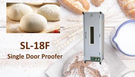 Proofer de porta única - O Proofer é uma máquina que cria pães de levedura e fermentação de poços.