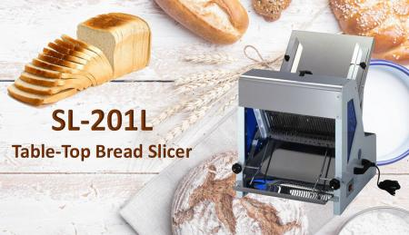 Affettatrice per pane - L'affettatrice per toast è progettata per tagliare toast e pane.