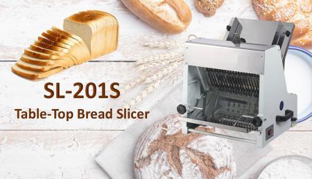 Affettatrice per pane da tavolo - L'affettatrice per pane da tavolo è progettata per tagliare toast e pane.