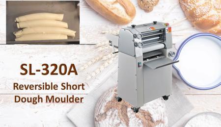 Formatrice per pasta corta reversibile - Reversible Dough Molder viene utilizzato per arrotolare la pasta strettamente con una qualità migliore.