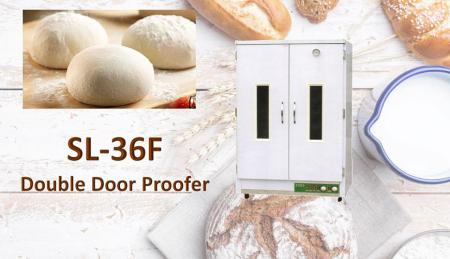 Proofer de doble puerta - Proofer es una máquina en la creación de panes de levadura y fermentación de pozo.