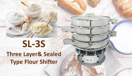 Multi-Layer & Sealed Type Flour Shifter - Multi-Layer & Sealed Type Flour Shifter is for shifting materials.