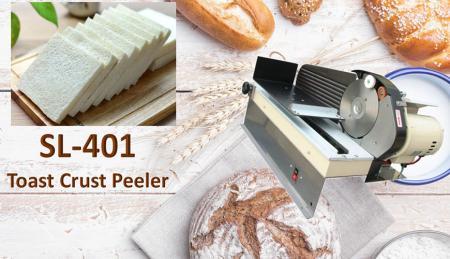 Pelapatate per toast - Toast Crust Peeler è progettato per tagliare la pelle dei toast.