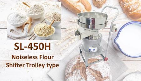 Noiseless Flour Shifter Trolley Type - Noiseless Flour Shifter Trolley type is for shifting materials.