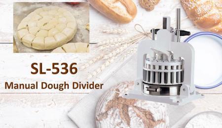 Divisore manuale della pasta - Il divisore manuale della pasta viene utilizzato per dividere la pasta prepesata.