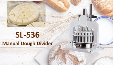 Manual Dough Divider - Manual Dough Divider is used for dividing pre-weighed dough.