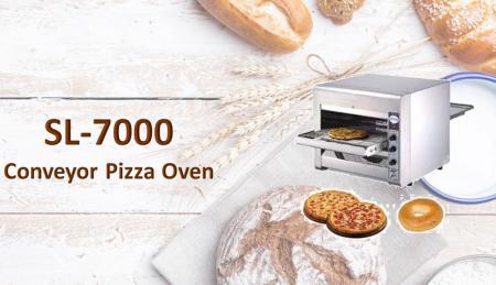 Forno per pizza con nastro trasportatore - Forno per pizza con nastro trasportatore