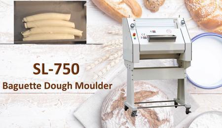 Bánh mì baguette Moulder - Baguette Dough Moulder được sử dụng để cán bột chặt với chất lượng tốt hơn.