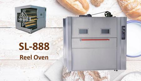 Reel Oven - Designed to ensure best performances even on the most delicate products.