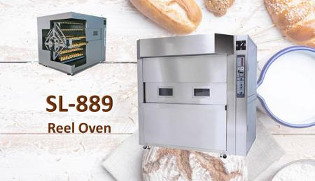 Rotary Basket Oven - Designed to ensure best performances even on the most delicate products.