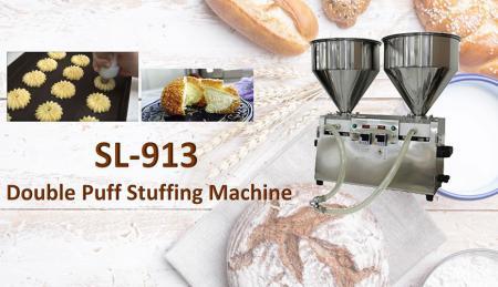 Double Puff Stuffing Machine - Double Puff Stuffing Machine