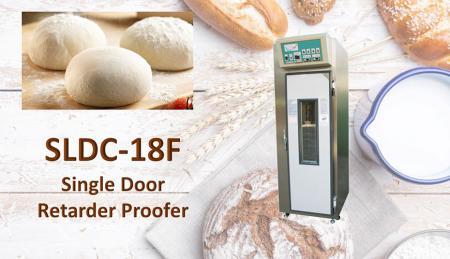 Cella di lievitazione con rallentatore a porta singola - Proofer è una macchina per la creazione di pani lievitati e per la fermentazione.