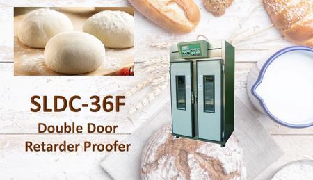 Cella di lievitazione ritardante a doppia porta - Proofer è una macchina per la creazione di pani lievitati e per la fermentazione.