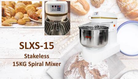 Stakeless 15KG Spiral Mixer - Stakeless Spiral Mixer