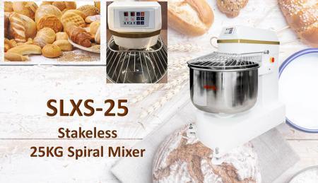 Stakeless Spiral Mixer - Stakeless Spiral Mixer
