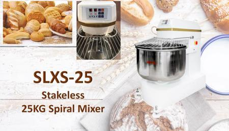 Stakeless Paperback Mixer - Stakeless Paperback Mixer