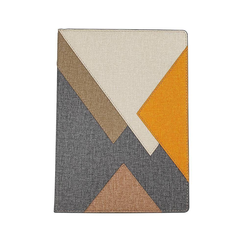 幾何搭接精裝筆記本