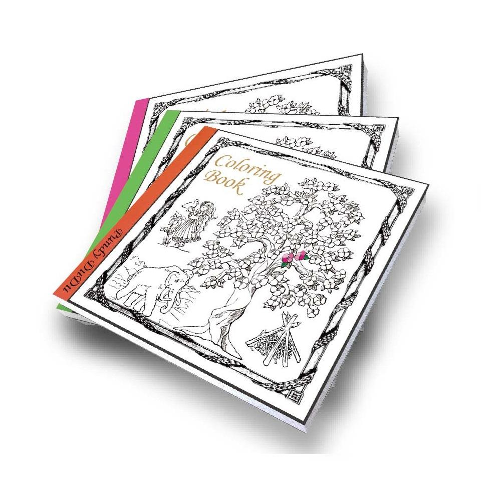 कस्टम रंग भरने वाली किताबें