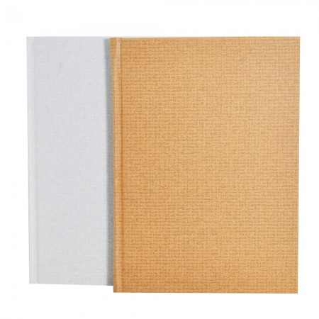 Linen Wrapped Art paper Hardcover Notebook