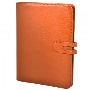 Genuine Leather PU ODM Notebook