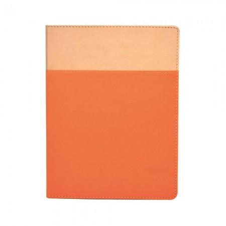 雙色搭接款精裝筆記本