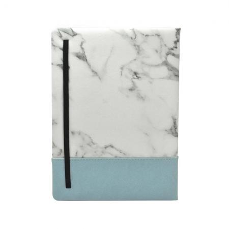 大理石紋精裝筆記本