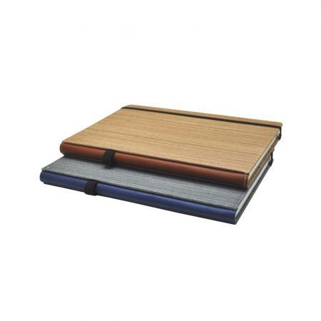 書背筆插布紋精裝筆記本