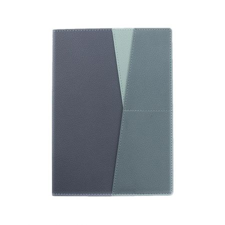 三色層袋精裝筆記本